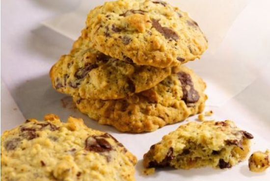 Nothing beats a cookie fresh from the oven. Chunky nuts and chocolate chips make these absolutely delicious.