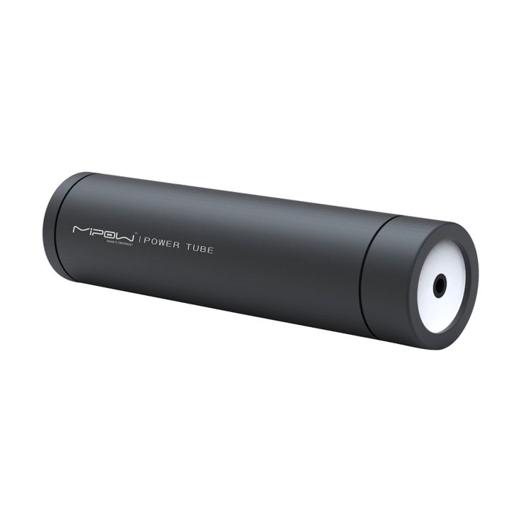 [Mipow] PowerTube 2200mAh External Backup Battery Charger for iPhone (Charcoal)