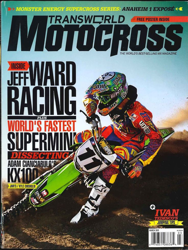 DC Public Relations: DC Motocross Rider Robbie Maddison Writes Column in Transworld Motocross Magazine