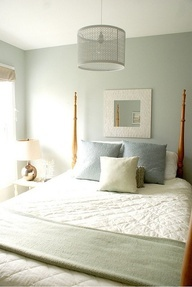 Absolute Best Paint Color I ever worked with! I put up and worked with probably over a hundred different paint color samples for clients.  This one was a slam dunk every time.  Id mix at half strength sometimes too. benjamin moore - quiet moments 1563 (so soothing!)