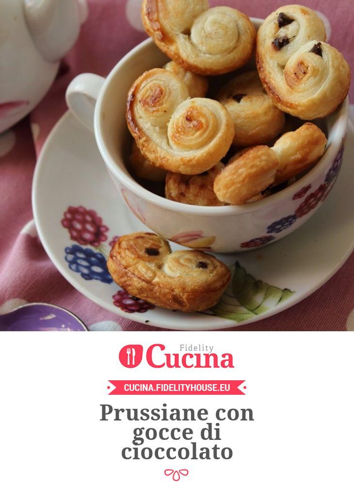 Prussiane con gocce di cioccolato della nostra utente Simona. Unisciti alla nostra Community ed invia le tue ricette!