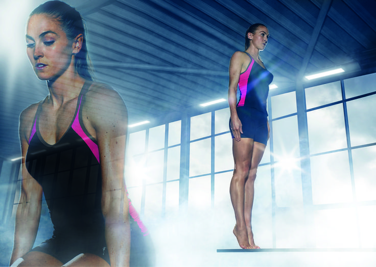 Tankini FREYA Active AA3184 noir Ce tankini est idéal pour des activitées sportives telles que le triathlon, le beach volley et pour retirer le maximum de vos séances d'entraînements de natation, aquagymn, aquabike ...  #lingeriesport #sport #natation #maillotdebainsport www.lingerie-sport.com