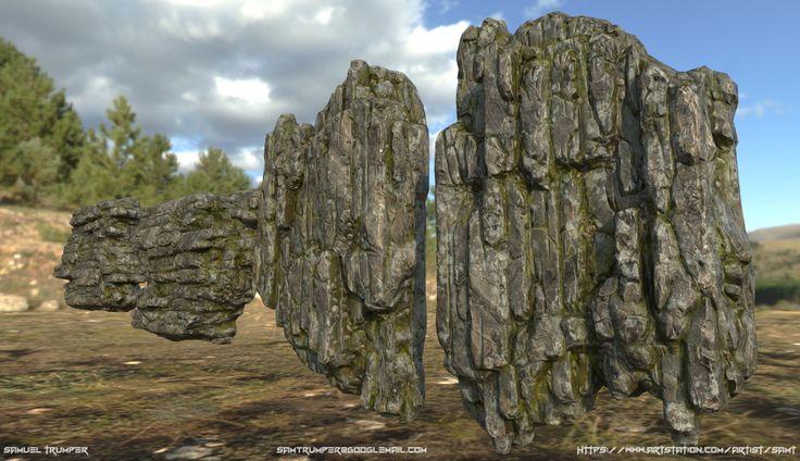 ArtStation - Rocks, Sam Trumper