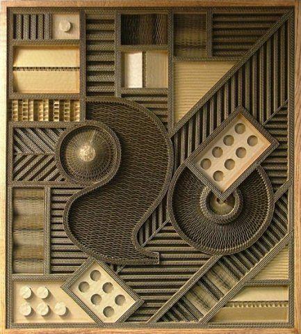 Mark Langan ~ Mid States Packaging 052 (corrugated cardboard)