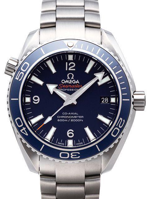 Omega Seamaster Planet Ocean 600M 232.90.42.21.03.001 Titan 42mm