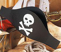 Piratenhut für Fasching basteln