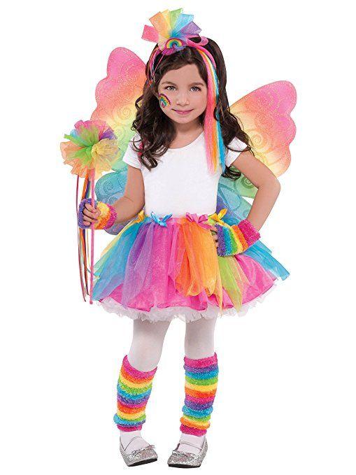 Regenbogen-Fee Tutu Kinder Kostüm Kinder Mottoparty Karneval kostüm gruppe kostüm karneval verkleidung fasching basteln faschingskostüm bekleidung mode fasching