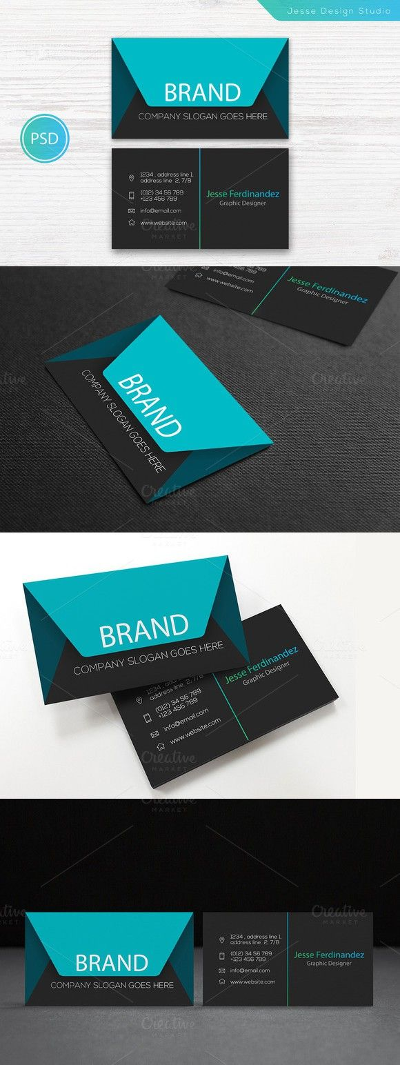 272 best Business Card Templates images on Pinterest | Business card ...