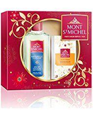 Mont Saint Michel Coffret 2 Produits Naturel Eau de Cologne pour femme Flacon 250 ml/Savon Douceur 125g