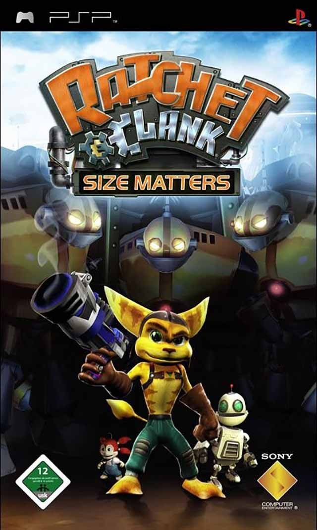 Ratchet & Clank: Size Matters (Europe) PSP ISO - NiceROM com