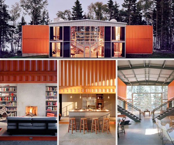 A House Created From Shipping Containers (!) LOVE It....or