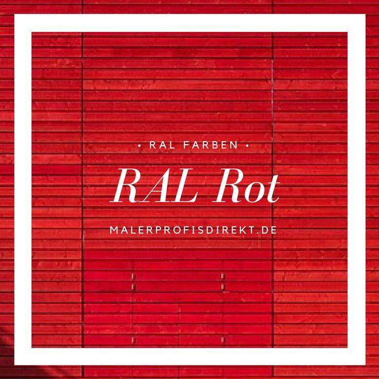 Die besten 25+ Ral farben rot Ideen auf Pinterest Jade, Jade - feng shui farben tipps ideen interieur