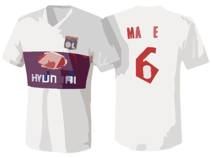 Lyon Jersey Shirt For Cheap 17-18 marcelo Home Kit