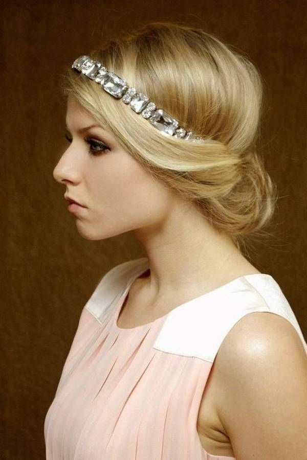 1000+ images about Gatsby Inspired Hairstyles on Pinterest | Gatsby party, Bridal headbands and ...