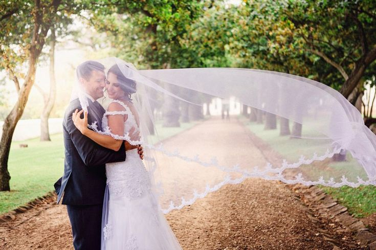 wedding photograph of couple