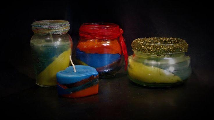 """Jak zrobić """"pijane świece"""" - Pomysły plastyczne dla każdego"""