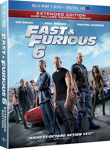 Fast & Furious 6 (PG-13) (Premieres 12/10)