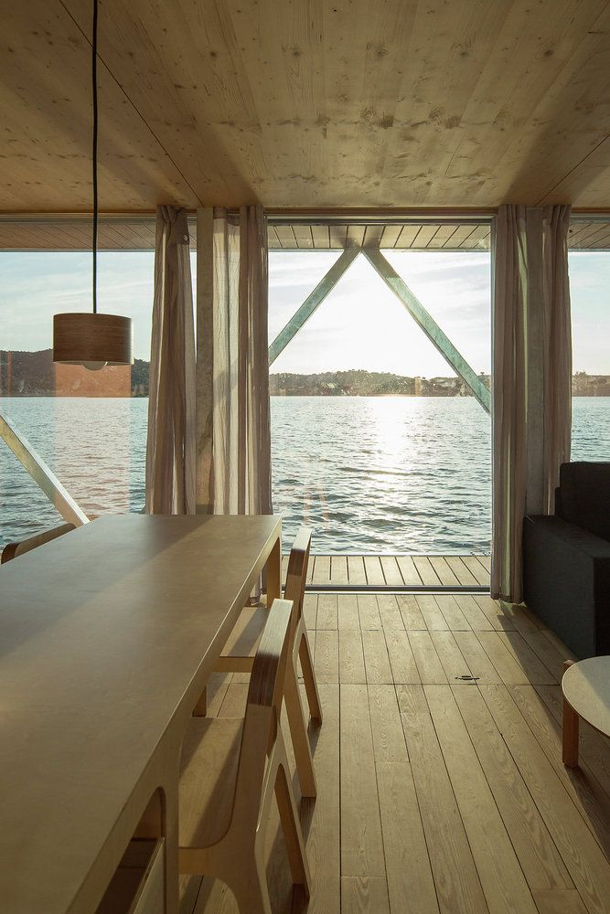 328 best Living on the water images on Pinterest | Floating house,  Houseboat ideas and Boat house