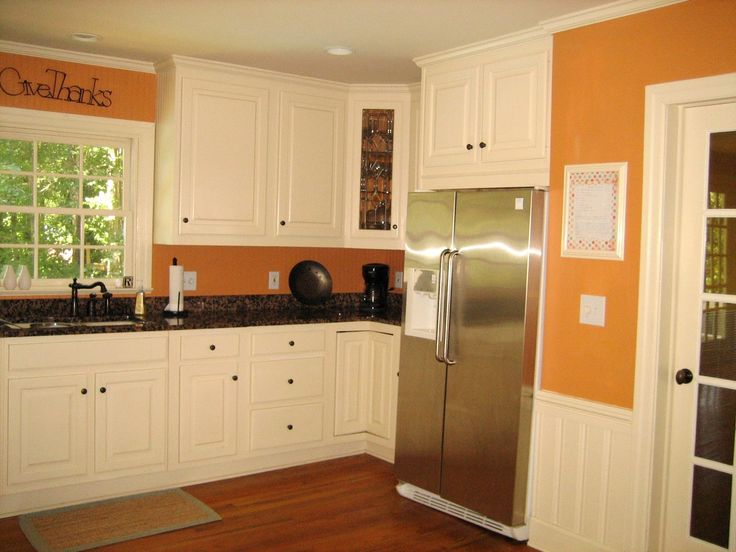 Orange Kitchen White Cabinets 36 best kitchen images on pinterest | kitchen ideas, kitchen