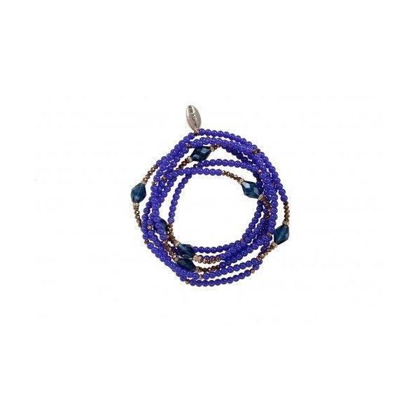 Vanity Her Viola Agate Bracelet via Polyvore