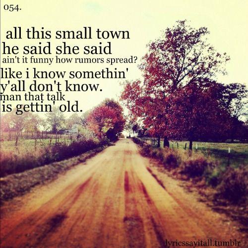 I'm tired of talkin' man y'all ain't listenin'  Them ol' dirt roads, is what y'all missin'