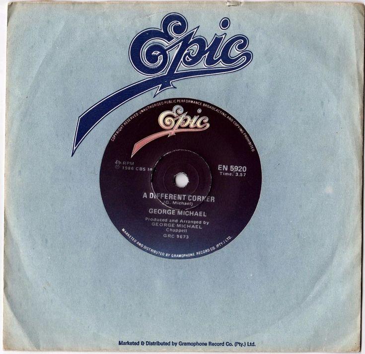 "GEORGE MICHAEL Different Corner 1986 South Africa Rare 45 7"" Vinyl Record EN5920 | Music, Records | eBay!"
