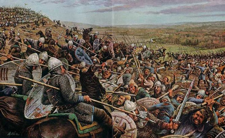 Calendar of events for the conquest year of 1066