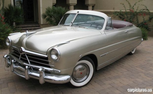 1950 Hudson Commodore Convertible @Car Pictures classic cars, vintage cars, old cars, car pictures,