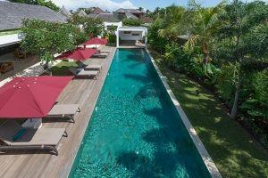 Casa Brio - overview of villa grounds