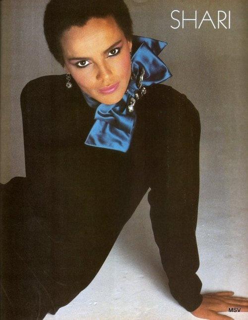 A Glamtastic Flashback: Shari Belafonte for VOGUE.