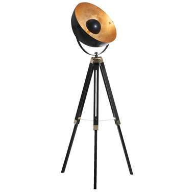 Vloerlamp Covaleda - bronskleurig - 164 cm