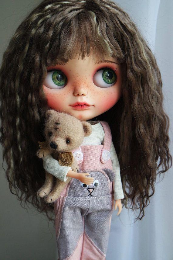 Muñeca de Blythe Custom OOAK BECKA por Cihui por BlythebyCihui