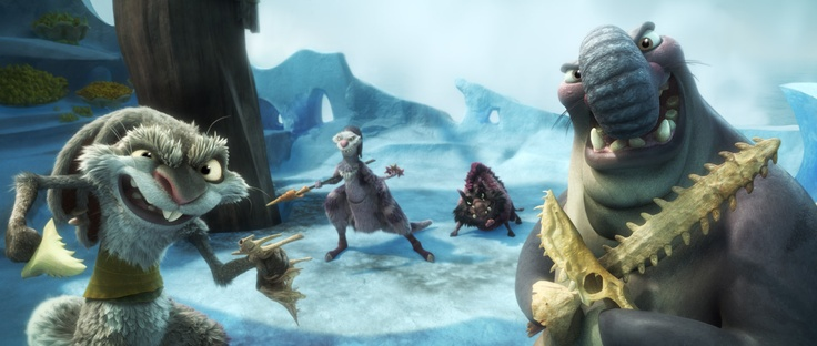 Don't miss Ice Age: Continental Drift, in theaters July 13th!