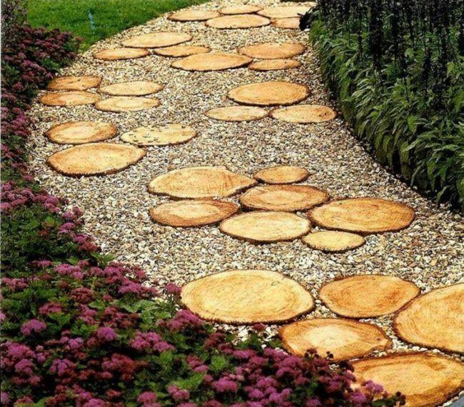 25+ parasta ideaa Pinterestissä Gartenweg Kävelytiet,Fischteich - gartenwege aus holz anlegen