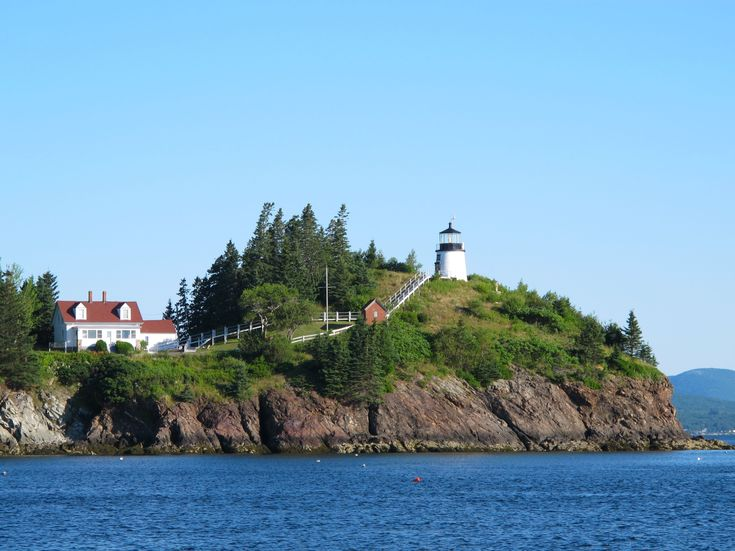 Owls Head Light is a lighthouse located in Owls Head Portland Head Lighthouse Maine. , Cape Elizabeth, Maine.