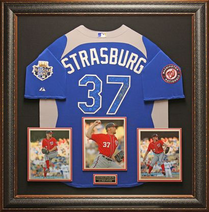 Stephen Strasburg, Washington Nationals Pitcher Authentically signed 2012 All-Star Jersey