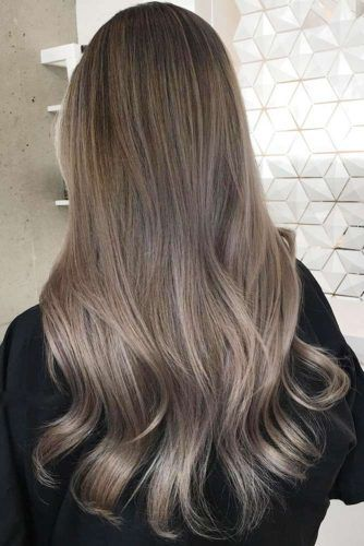 Light Ash Brown Hair With Highlights And Lowlights