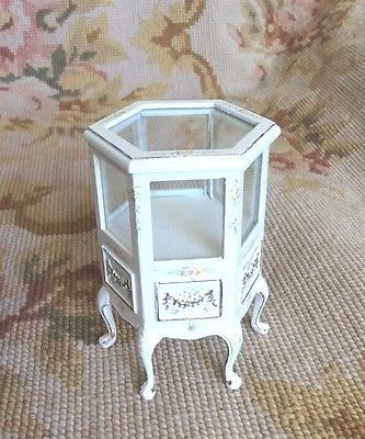 Counter Cabinet Table Six Sided 1:12 Dollhouse Miniature