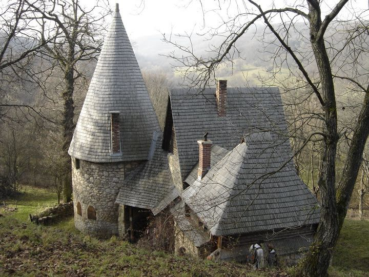 Crow Castle in Transylvania - the home of Karoly Kos, Hungarian architect