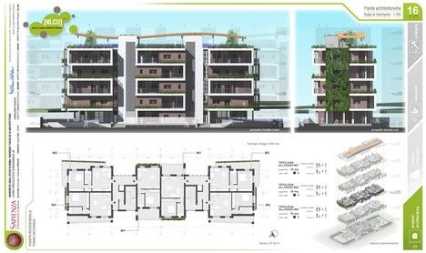Progetto Architettonico Piano Secondo Tesi di Laurea in Architettura di Alessio Pea
