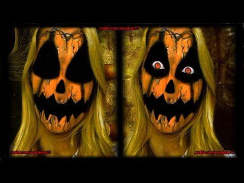 Makeup tutorial da zucca stile horror - VideoTrucco