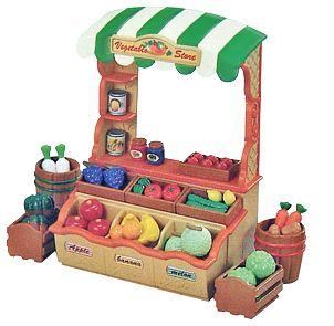 Sylvanian Families Vegetable Store