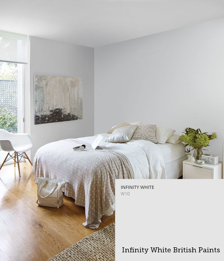 British Paints: Infinity White
