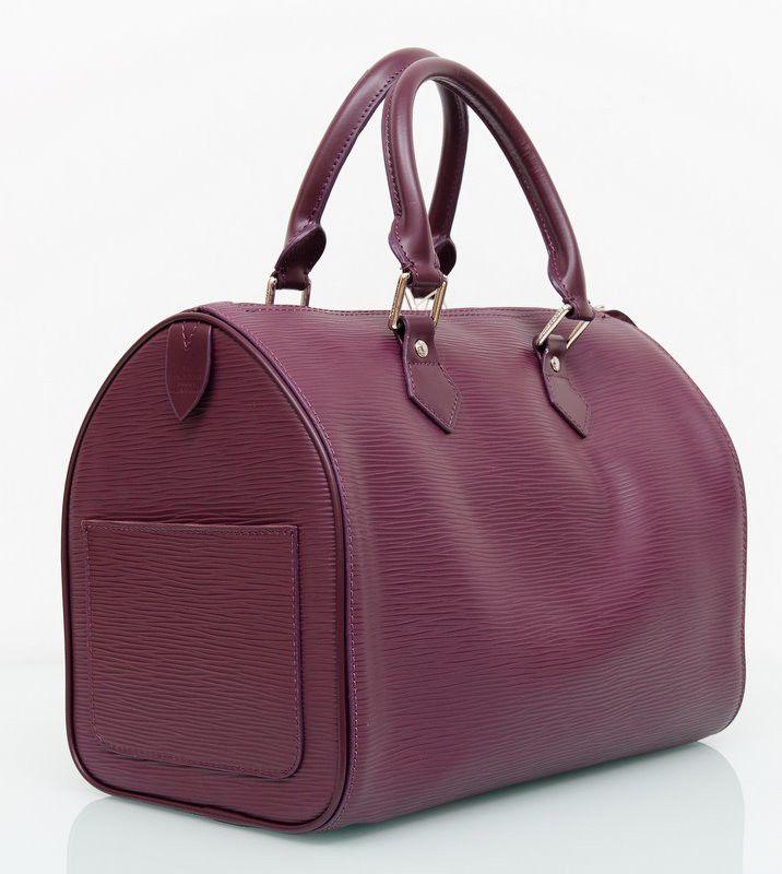 Сумка Louis Vuitton Epi Leather Speedy 30 сиреневаяая кожа !! Распродажа модели !! Модель со скидкой !!