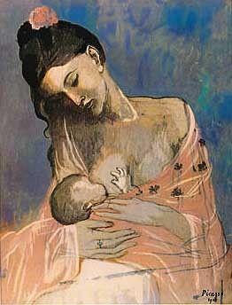 Pablo Picasso, Maternity on ArtStack #pablo-picasso #art