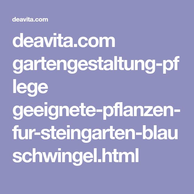 deavita.com gartengestaltung-pflege geeignete-pflanzen-fur-steingarten-blauschwingel.html