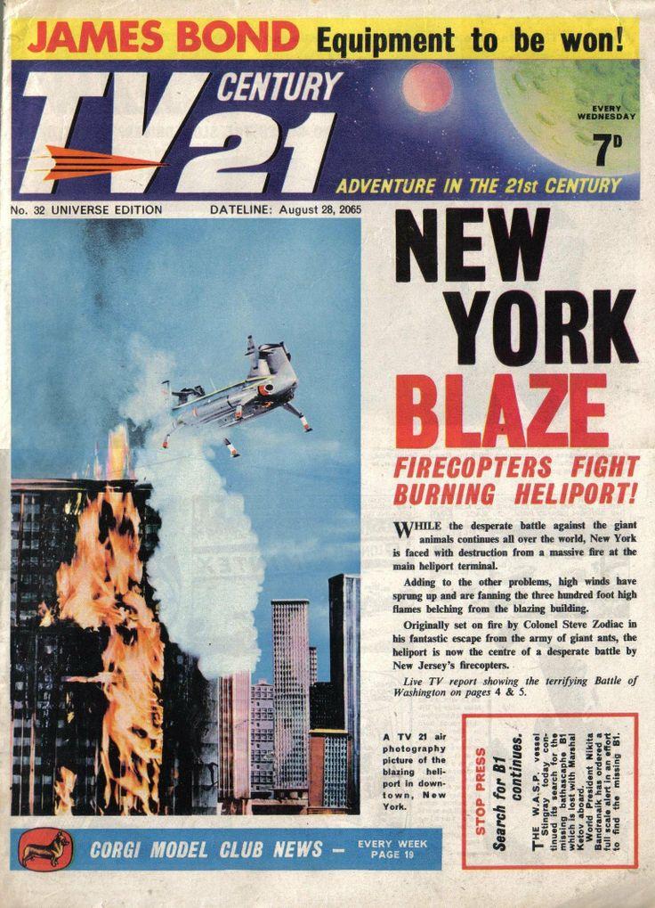 TV Century 21 issue number 32