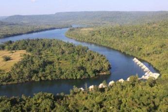 4 Rivers Floating Lodge i Cambodja