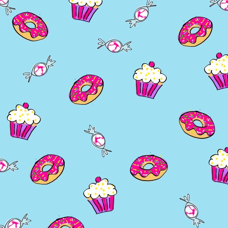 Słodkie wzorki na paznokciach – muffinki, cukierki, donuty | Cienistość.pl - paznokcie, zdobienia i hybrydy - blog z inspiracjami