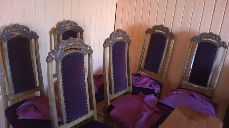 Sillas de comedor restauradas